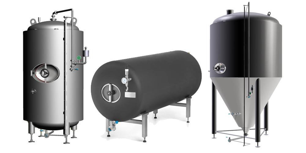 Rezervoarji za proizvodnjo piva